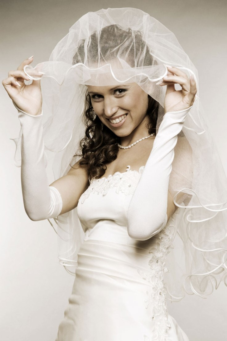 Are you wearing a veil on your wedding day?