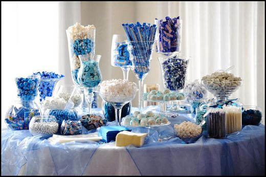 Will you have a candy station at your wedding reception?