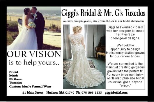 New England bride magazine ad