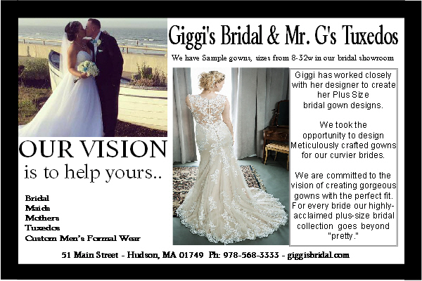 New England bride magazine ad